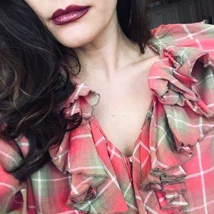 Denim & Supply Ruffle Flannel